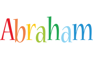 Abraham birthday logo