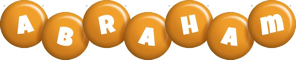 Abraham candy-orange logo