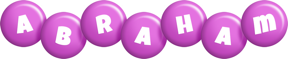 Abraham candy-purple logo