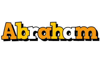 Abraham cartoon logo