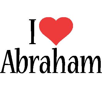 Abraham i-love logo