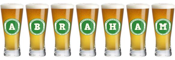 Abraham lager logo
