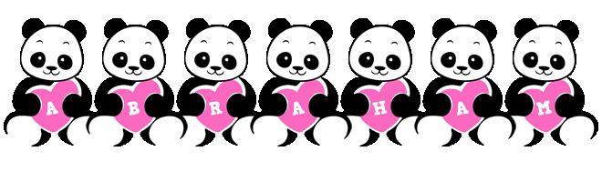 Abraham love-panda logo