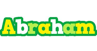 Abraham soccer logo
