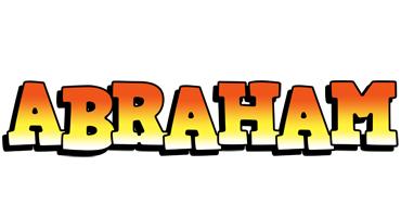 Abraham sunset logo