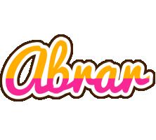 Abrar smoothie logo