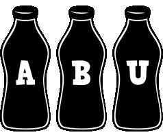Abu bottle logo