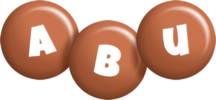 Abu candy-brown logo