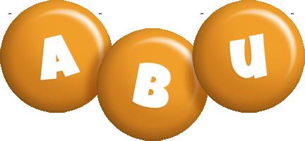 Abu candy-orange logo