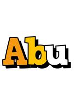 Abu cartoon logo