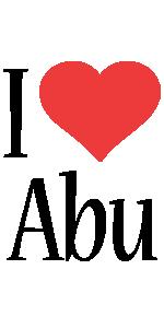 Abu i-love logo