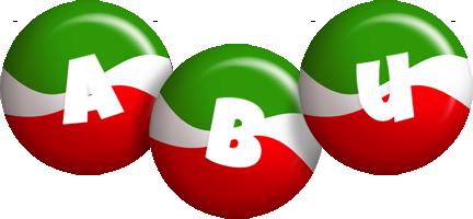Abu italy logo