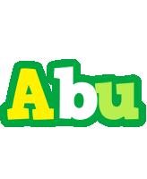 Abu soccer logo