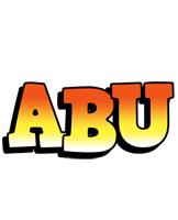 Abu sunset logo