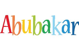 Abubakar birthday logo