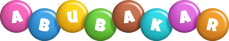 Abubakar candy logo
