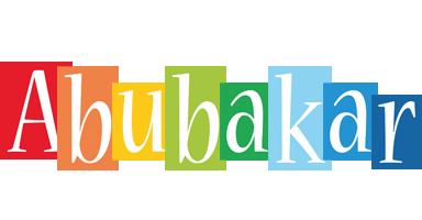 Abubakar colors logo