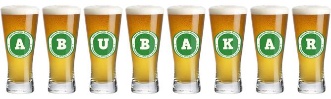 Abubakar lager logo