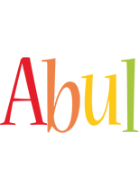 Abul birthday logo