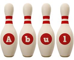 Abul bowling-pin logo
