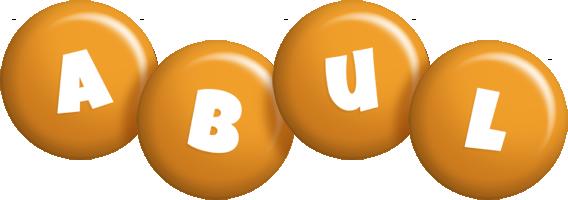 Abul candy-orange logo