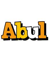 Abul cartoon logo