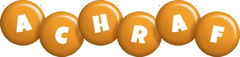 Achraf candy-orange logo