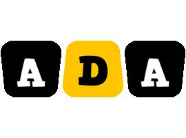 Ada boots logo