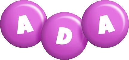 Ada candy-purple logo