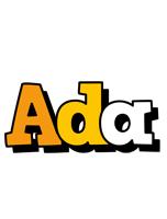 Ada cartoon logo