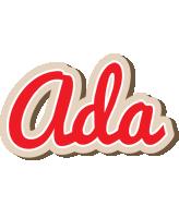 Ada chocolate logo