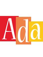 Ada colors logo