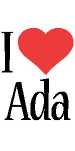 Ada i-love logo
