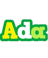 Ada soccer logo