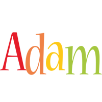 Adam birthday logo