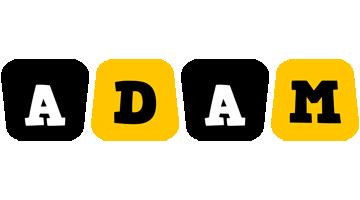 Adam boots logo