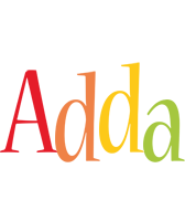 Adda birthday logo