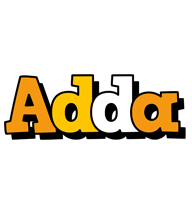 Adda cartoon logo