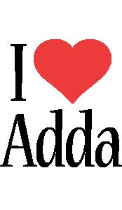 Adda i-love logo