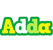 Adda soccer logo