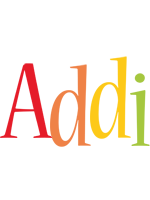 Addi birthday logo