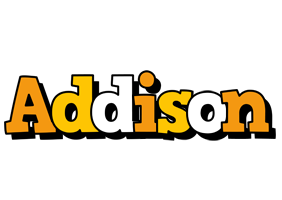 Addison cartoon logo