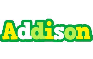 Addison soccer logo