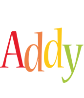 Addy birthday logo