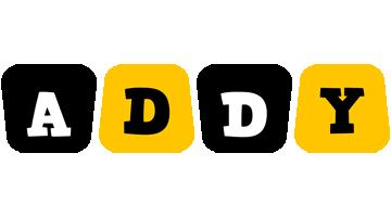 Addy boots logo