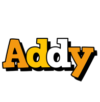 Addy cartoon logo