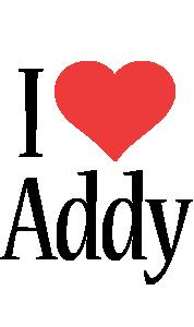 Addy i-love logo