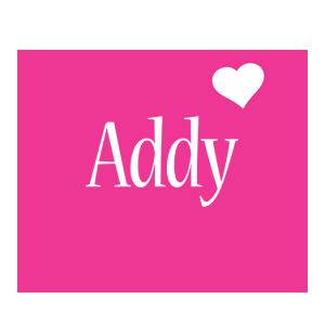 Addy love-heart logo