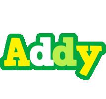 Addy soccer logo
