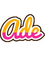 Ade smoothie logo